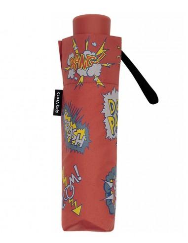 Paraguas Plegable Kids Cómic Rojo