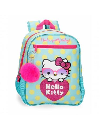 Mochila Pequeña Glasses Hello Kitty...